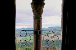 Castello di Monterone - Camera Feritoie: panorama