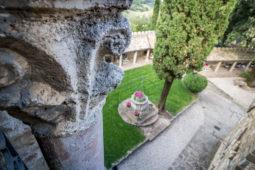 Camera dell'Etrusco - Dettaglio del capitello della bifora