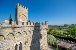 Monterone Castle - View of the hills