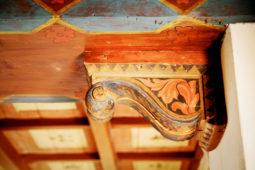 Camera del Cardinale - particolare del soffitto