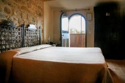 Giota - Ingresso e letto matrimoniale