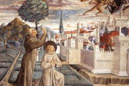 Montefalco - Benozzo Gozzoli's frescoes